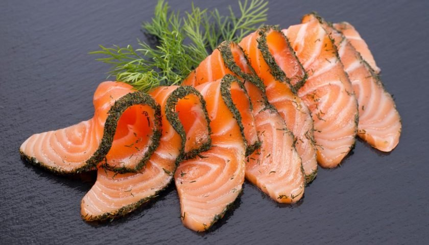 bacteria recall due to listeriafund in different salmon